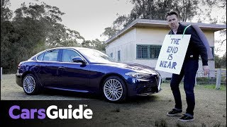 Alfa Romeo Giulia Super 2017 review: road test video