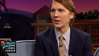why cant paul dano go first?