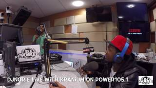 DJNORIE LIVE INTERVIEW WITH KRANIUM ON POWER1051