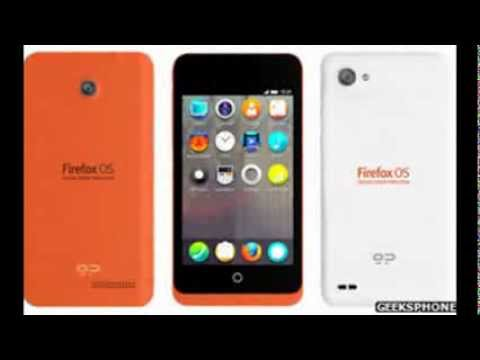 First Firefox phones revealed by Mozilla and Geeksphone
