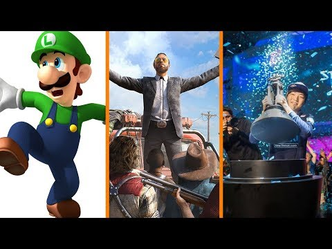 Obsession Over Luigi's Bulge + Far Cry 5 Does Microtransactions + Esports Match Fixing Arrest