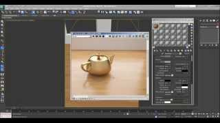 3DS Max tutorial Wood Floor Vray material