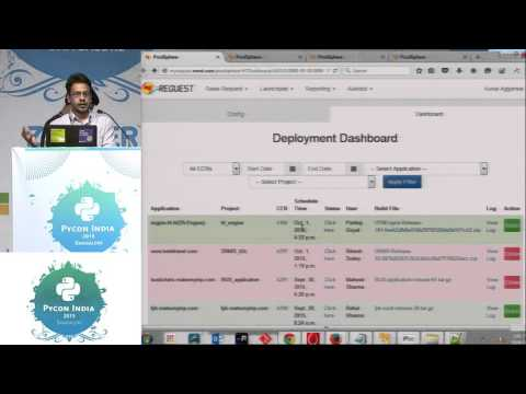 Image from Lightning Talk - Deployment automation - PyCon India 2015