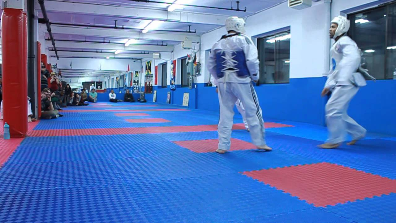 Elite TaeKwon Do Exam - Thierry V Sebastien pt.2