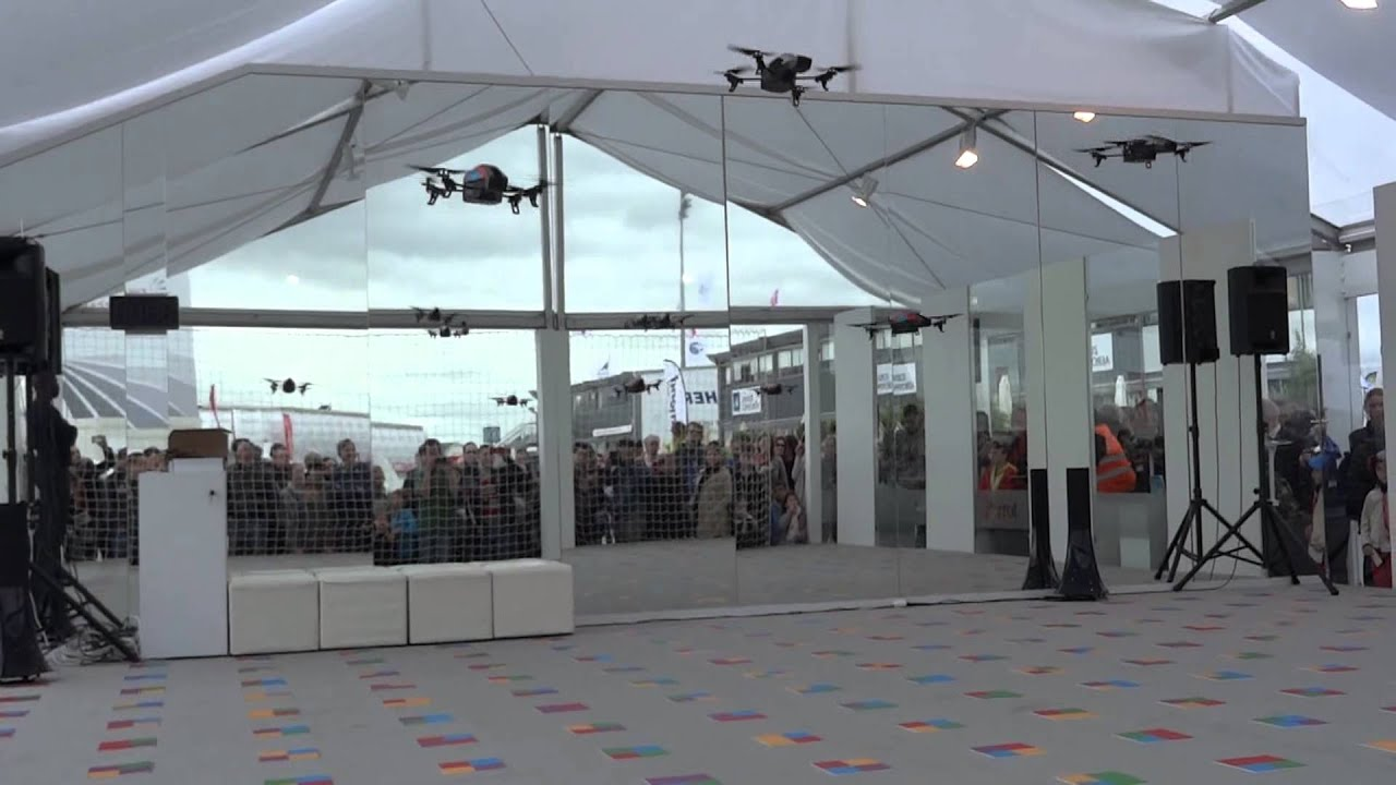 Salon du bourget 2013 ar drone youtube for Salon du bourget islam