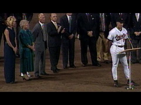 Ripken speaks after 2,131st consecutive game