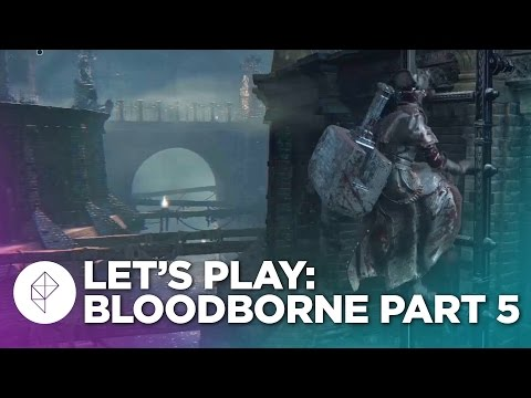 Bloodborne gameplay walkthrough part 6: the Kirkhammer of Yharnam