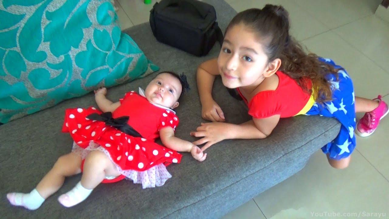 La Ropa De Sarayu 9 Vestido De Minnie Mouse Ropa Para Niña Bebé