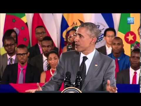 President Barack Obama Speaks about Bob Marley