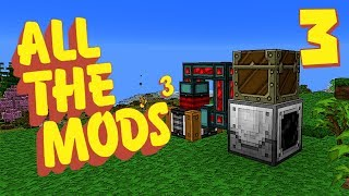 Minecraft All The Mods 3 #3 [Modded Survival] with GamingOnCaffeine...