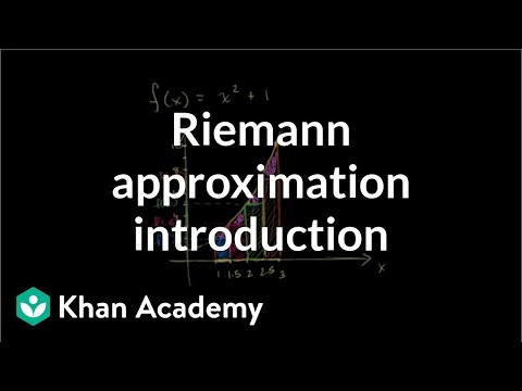 Riemann approximation introduction | Accumulation and Rieman