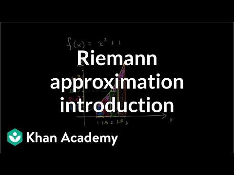 Riemann approximation introduction | Accumulation and Riemann sums | AP Calculus AB | Khan Academy