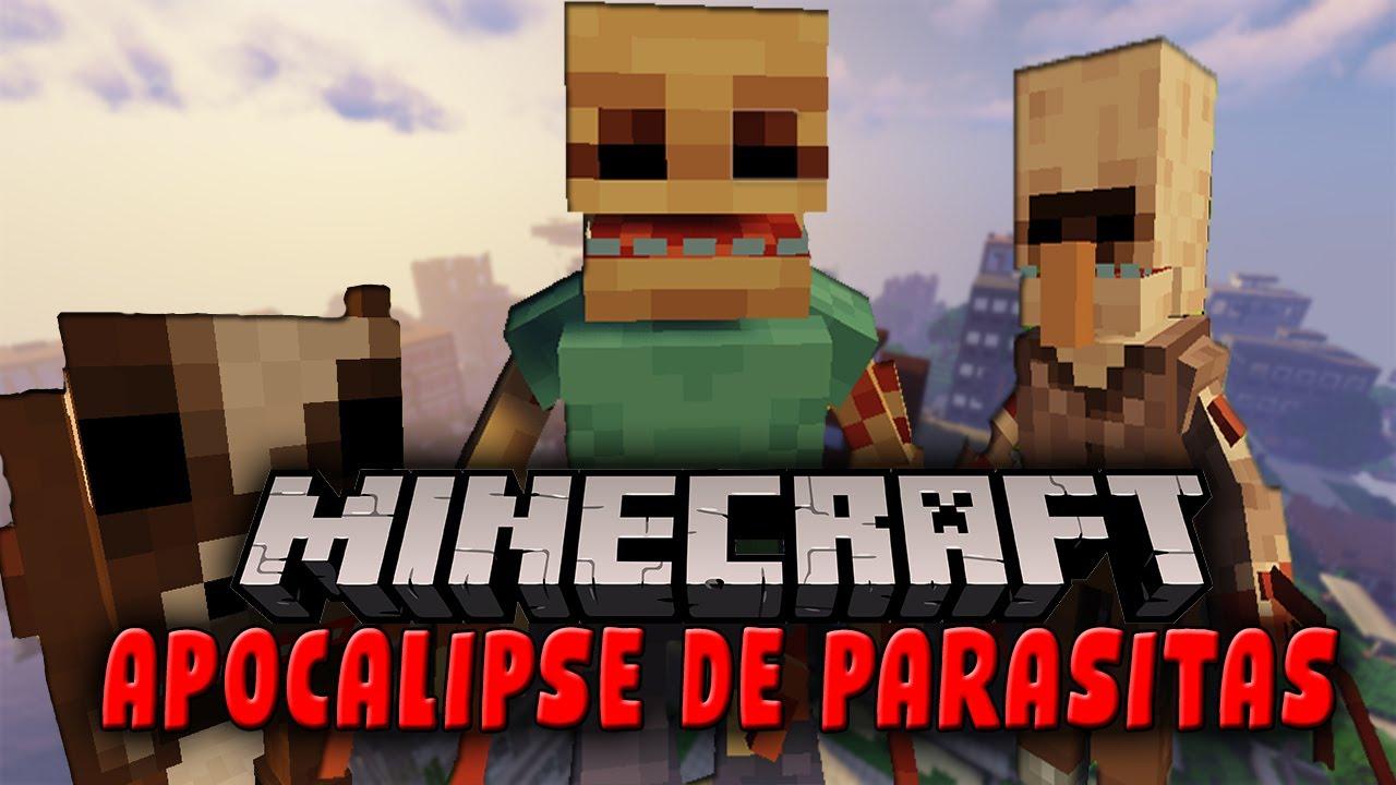 MINECRAFT: APOCALIPSE DE PARASITAS - MOD SHOWCASE
