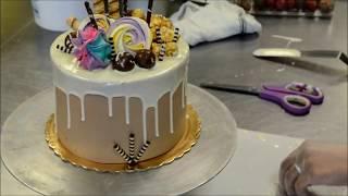 Украшение тортов | Как украсить торт ко дню рождения любимых(, 2017-07-04T06:19:43.000Z)