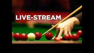 LIVE ~ SNOOKER SEEDING CUT OFF FOR ENGLISH OPEN (Barnsley) 2018