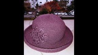 [코바늘 뜨개] 코바늘 초보 겨울 벙거지 모자 뜨기 ,…