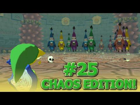Legend of Zelda Wind Waker Chaos Edition Walkthrough! - Part 25 - Big Poe!