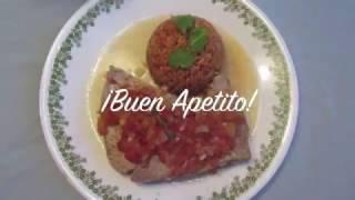 Spanish Cuisine: Atun con tomates (tuna steaks with tomato sauce)