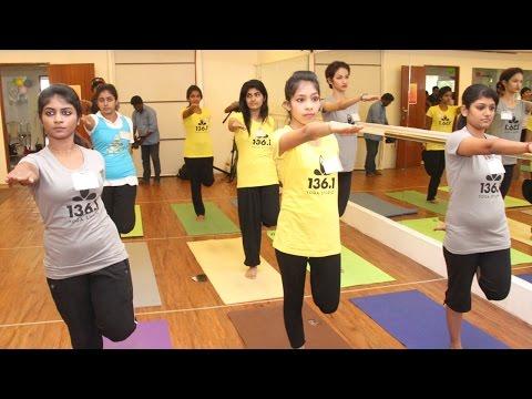 Yoga Wellness Queen - A Sub Round of Miss Madras & Mrs Chennai 2014   Galatta Tamil
