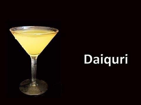 Daiquiri cocktail drink recipe youtube for Cocktail daiquiri