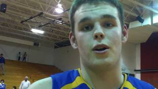 Postgame: Jake Geisler - NewCath 63 Newport 38 - 36th District Finals