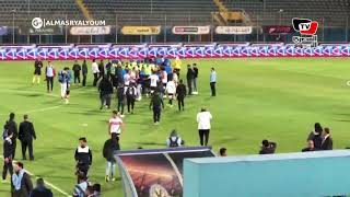 اعتداء لاعبوا وطبيب الزمالك على مصور المصري اليوم عقب الهزيمة من بيراميدز