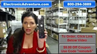 Vizio Blu Ray Remote Control - $5 Off Coupon Code-VR7A (BRAND NEW) ElectronicAdventure.com