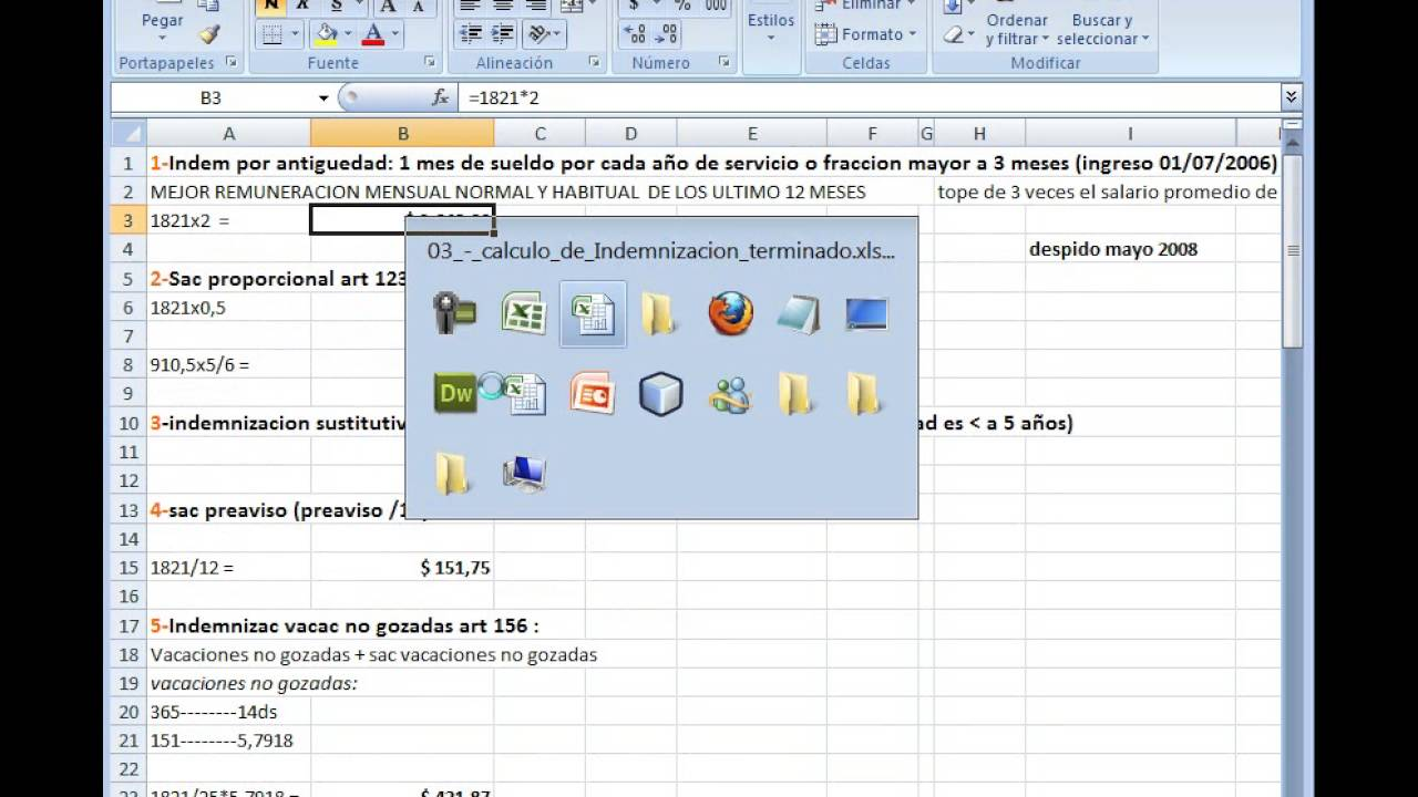 Estandarización de planillas Excel - YouTube