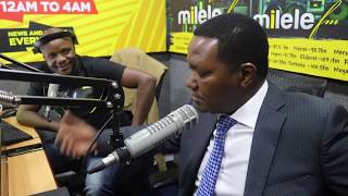Kivumbi: Dr. Alfred Mutua in Studio Part 1