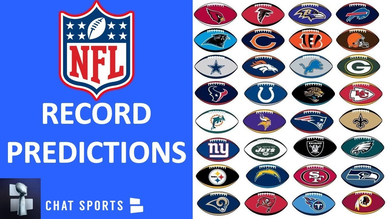 2020 NFL Record Predictions For All 32 Teams