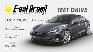 Test Drive Tesla Model S / E-sol Brasil