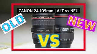Which one is better? | Canon EF 24-105mm F/4L IS II USM vs 24-105mm F/4L IS USM