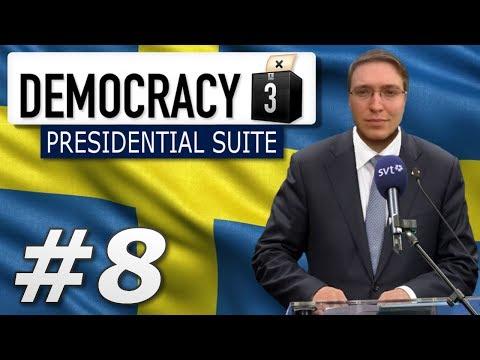 Democracy 3: Presidential Suite | Sweden  - Year 8
