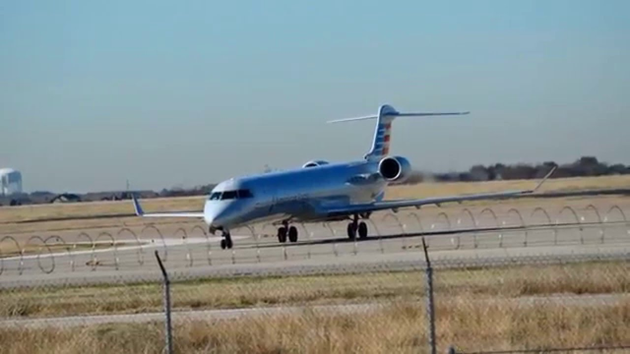 Mesa Airlines American Eagle Mesa Airlines Crj 900er Engine Test At Dfw N947lr Hair Dryer Noise