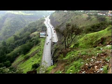 Beautiful view of khandala ghat & natural sceneries