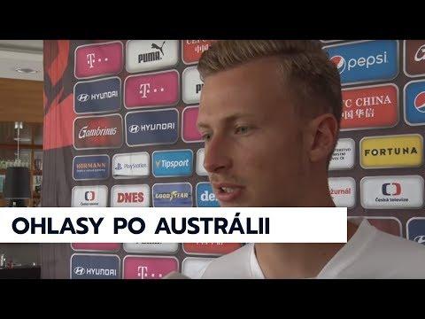 Hodnocení zápasu s Austrálií, 2.6.2018