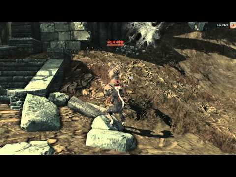 Blade & Soul - CBT2 - Kung-Fu Master Skills