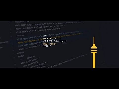POST /bank Hackathon Stuttgart Sonntag Atmocam