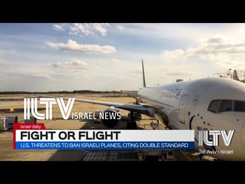 U.S. Threatens To Ban Israeli Planes