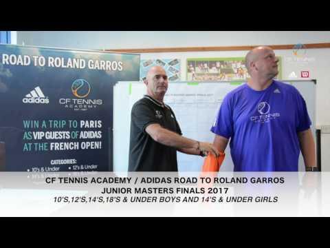 CF Tennis Academy / Adidas Road to Roland Garros Junior Masters Finals 2017
