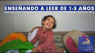 ENSEÑANDO A LEER DE 1 A 3 AÑOS// COLEGIO CALATRAVA