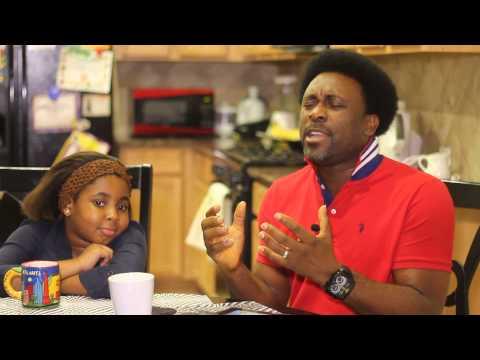 Samsong singing wekobiro to Anita McPc's  daughter
