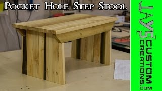 Pocket Hole Step Stool #2 - 147