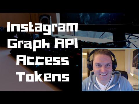 Instagram Graph API Access Tokens
