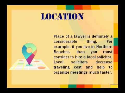 Helpful Guide to Select Right Solicitors at Northern Beaches