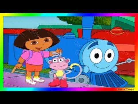 Dora And Friends The Explorer Cartoon Adventure 🚂 Choo Choo Marri With Dora Buji In Tamil !