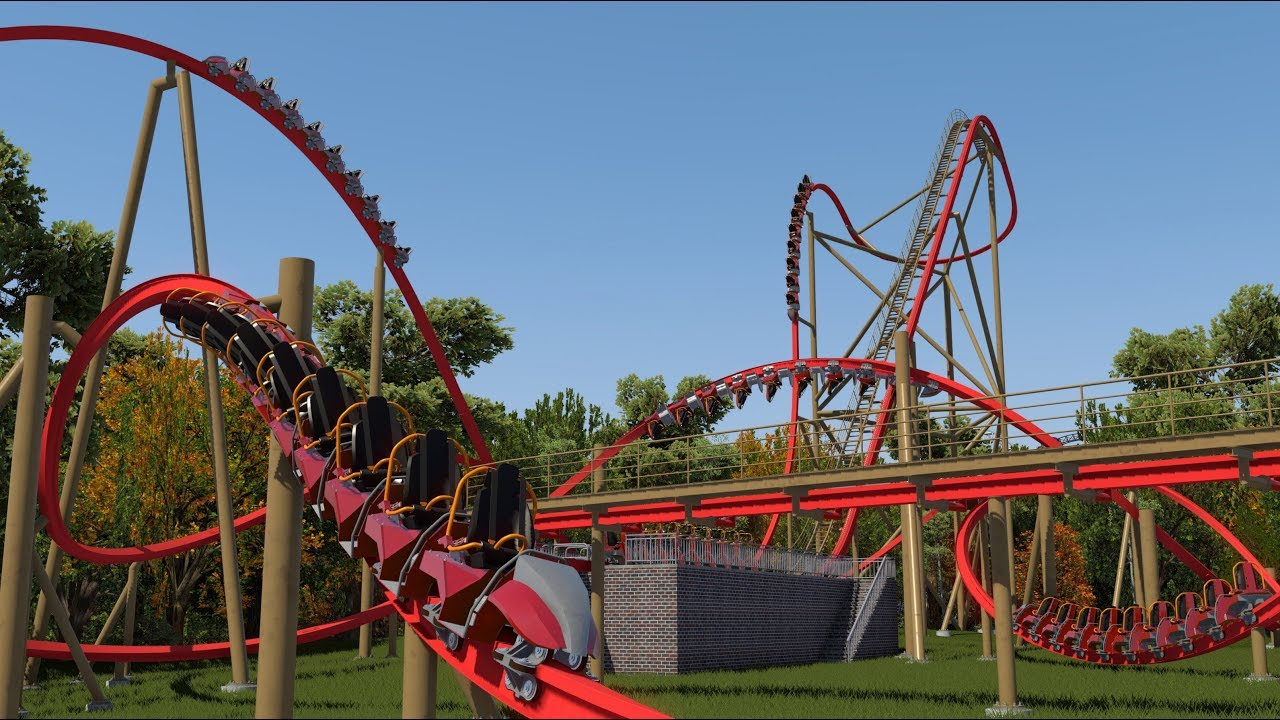 Nolimits Coaster 2] Hiro - RMC Raptor Coaster (60fps) - YouTube