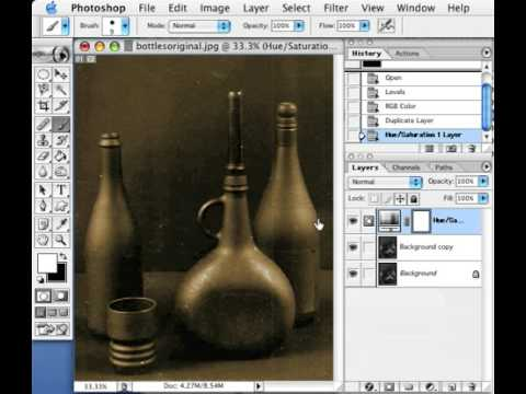 Photo Editing #2: Sepia Effects [PhotoShop]