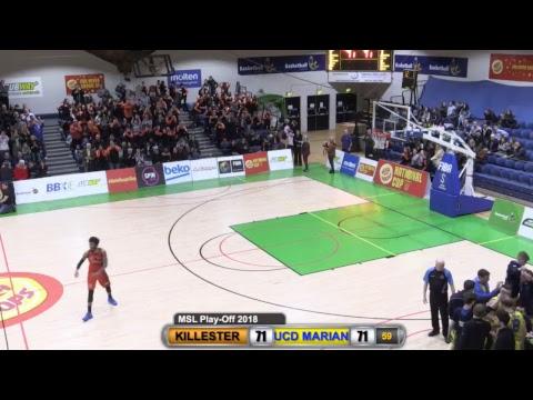 Men's Super League Play-Off: Pyrobel Killester v UCD Marian