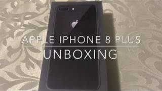Apple iPhone 8 Plus unboxing/review